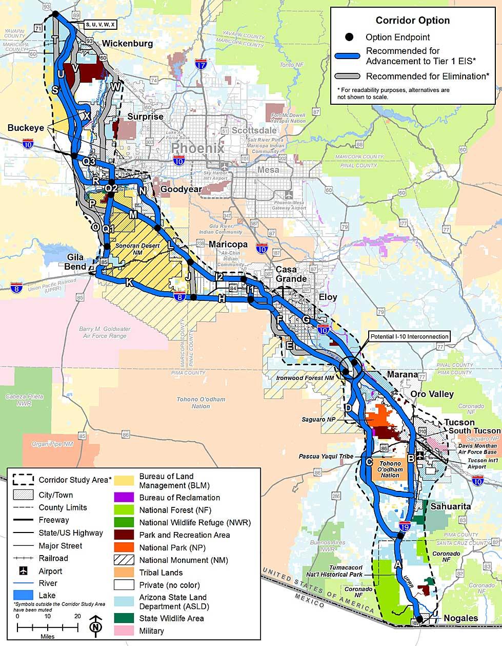 I-11 & Intermountain West Corridor Study